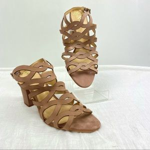 Vince Camuto Norla Dusty Rose Strappy Sandal
